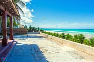 A beachfront casa particular in Varadero
