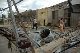 Tropical cyclones in Cuba. Consequences.