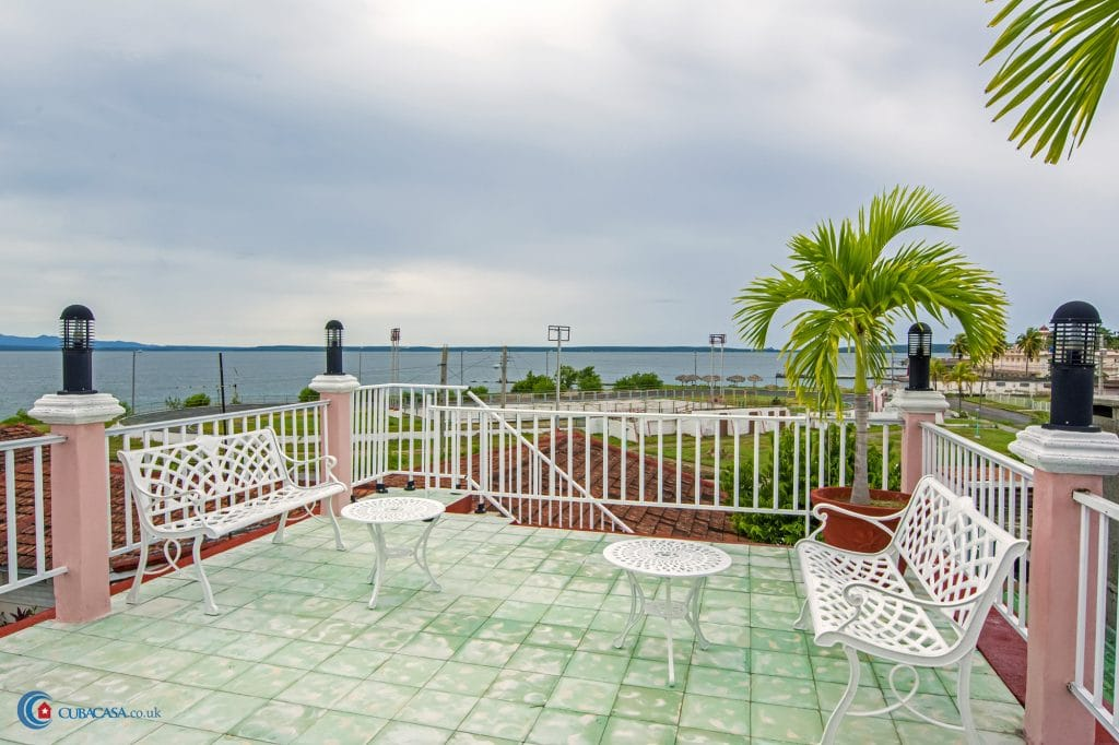Casa Carlos y AnaMaria, in Cienfuegos. A nice place to stay and practice sport fishing in Cuba