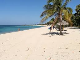 Ancon beach, in Trinidad, one of the best beaches in Cuba