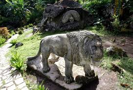 The Piedra (Stone) Zoo in the eastern region of Cuba.