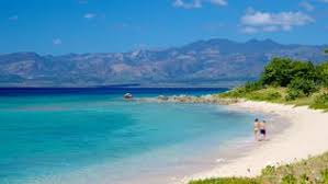 Ancon beach, in Trinidad. Best places to visit in Cuba