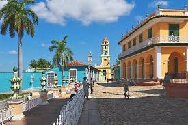 The historical center, in Trinidad. Best places to visit in Cuba