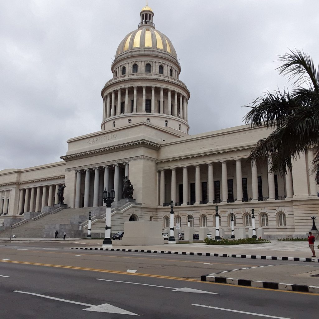The National Capitol, in Havana.