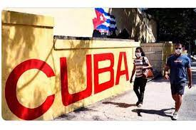 Cubans with mask during this pandemic time in Cuba